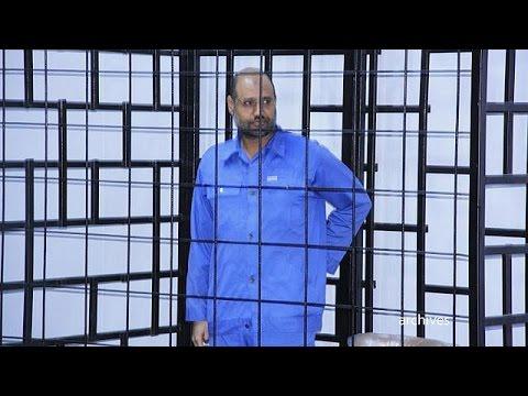 Ερήμην σε θάνατο ο γιος του Καντάφι