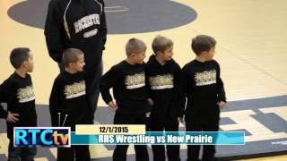 Rochester High School Wrestling vs New Prairie