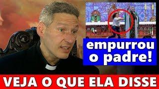 Notícias dos famosos - Mulher contou porque agiu de forma triste com Padre Marcelo Rossi durante missa