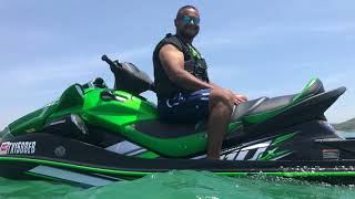 5. Stock 2017 Kawasaki 310LX Jet Ski Top Speed
