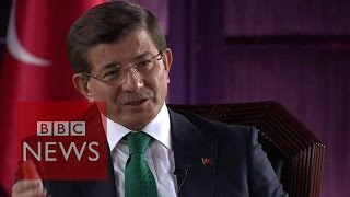 'Nobody can blame Turkey over Kobane' says PM Ahmet Davutoglu -