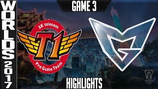 Video SKT vs SSG Highlights Game 3 Worlds 2017 Final - SK Telecom T1 vs Samsung Galaxy World Championship MP3, 3GP, MP4, WEBM, AVI, FLV Agustus 2018