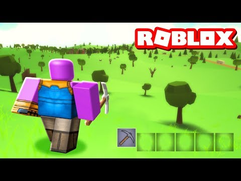 THANOS IN ROBLOX ISLAND ROYALE