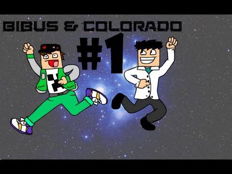 Bibus och Colorado Spelar Minecraft - Del 1 - Början På Äventyret!