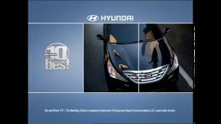 "Hyundai Retail ""Savings in Motion"" Campaign"