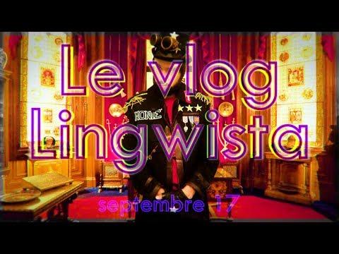 VLOG LINGWISTA #4 (sept17) : déguisement, convention & t-shirts