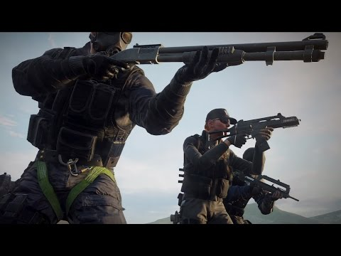 Rainbow Six Siege: Operators Gameplay Trailer