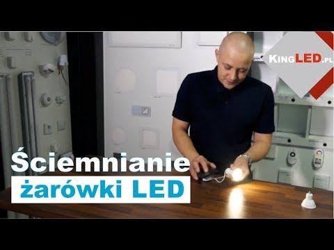 Ściemnianie - regulacja jasności żarówki LED