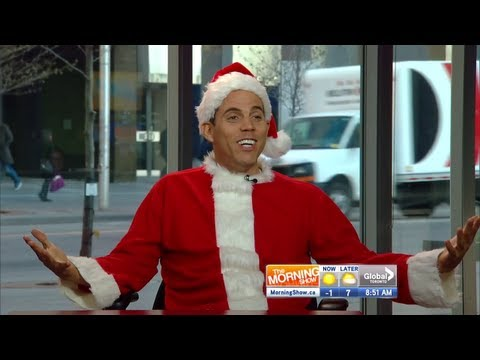 Steve-O in a Santa suit comedy and Killer Karaoke