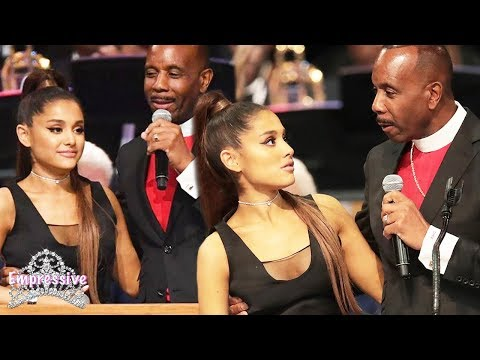 Video Ariana Grande was touched inappropriately | Bishop Charles Ellis apologizes download in MP3, 3GP, MP4, WEBM, AVI, FLV January 2017