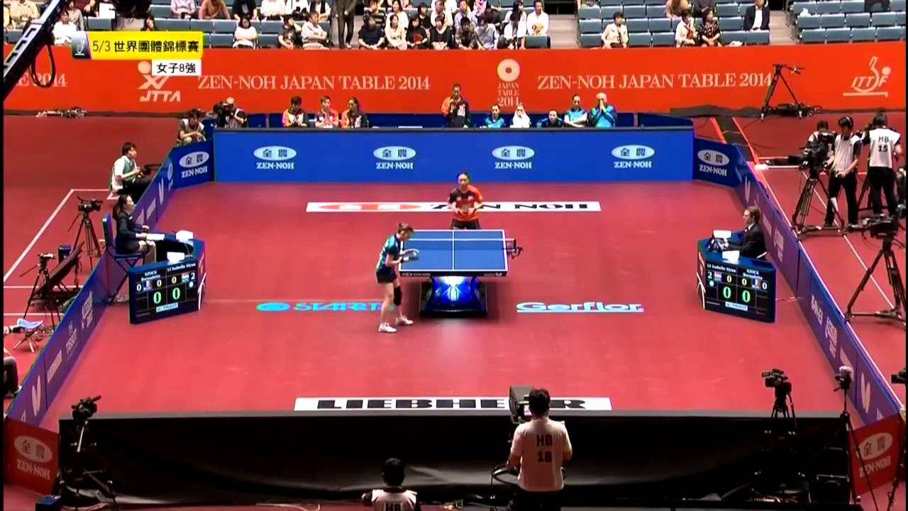 2014 WTTTC (WT-QF) ROMANIA vs SINGAPORE [HD] [Full Match/Chinese]