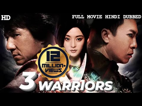 3 WARRIORS - Hollywood Movie Hindi Dubbed | JACKIE CHAN | Hollywood Action Movies In Hindi Dubbed