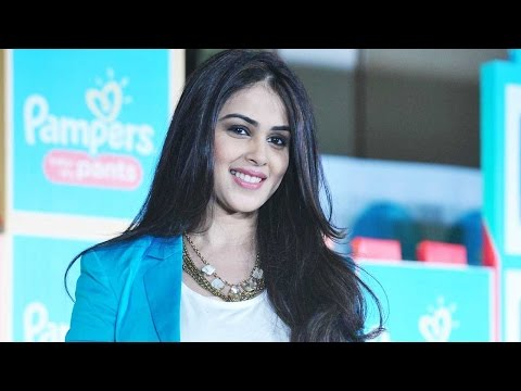 Genelia D'Souza At Pampers Event: Reveals Comeback