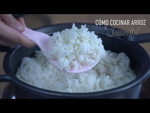 Como Cocinar Arroz Jazmín Tailandés - How To Cook Thai Jasmine Rice
