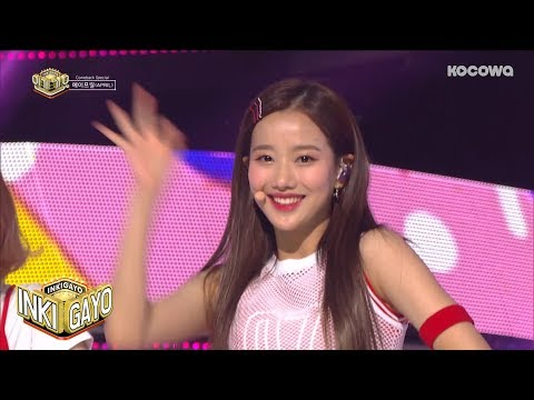 APRIL - BEEP + The Blue Bird | 에이프릴 - BEEP + 파랑새 [Inkigayo Ep 949] (видео)
