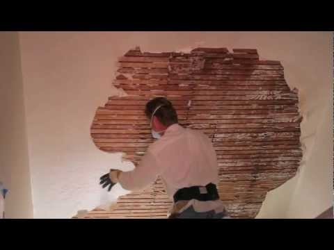 plaster repair - http://www.SanFranciscoPlastering.com Kirk Giordano Plastering Inc. 510 521-9546 Howdy guys and gals, the owners of this home asked me to look at some pictur...