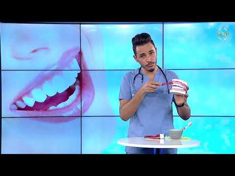 الطريقة الصحيحة لتنظيف الأسنان واللسان