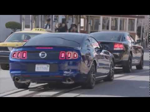The famous Car chase from Bullitt revisited, 2013 style!