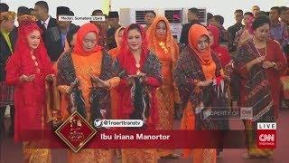Video Tersipu Malu, Ibu Negara Iriana Manortor di Depan Jokowi MP3, 3GP, MP4, WEBM, AVI, FLV September 2018