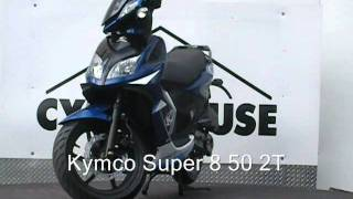6. Kymco Super 8 50 2T Scooters New Jersey New Scooters NJ
