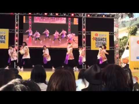 中学校ダンスフェス2016 チーム Color voice