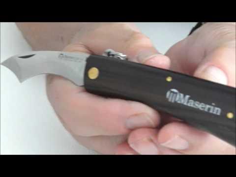 MUSHROOM KNIFE IN ROSEWOOD
