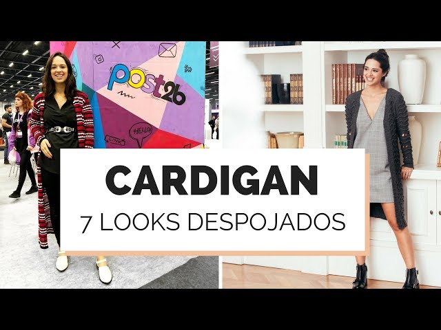 7 LOOKS INFALÍVEIS COM CARDIGAN | MARI FLOR - Closet da Mari