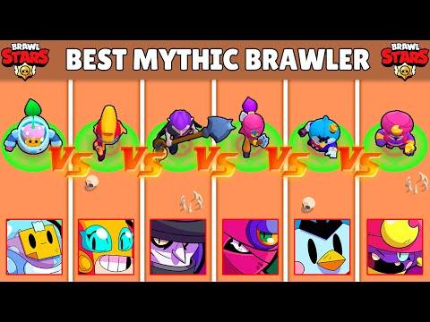 Best MYTHICAL Brawler in BRAWL STARS ! Olympiad !