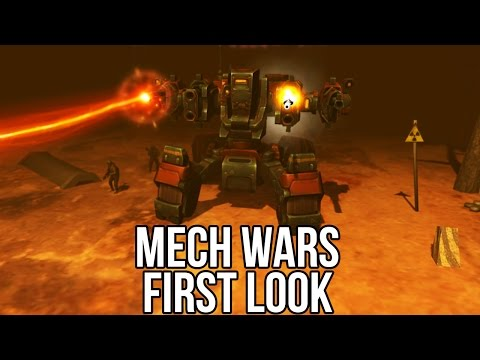 Mech Wars (Free MMORTS): Watcha Playin'? Gameplay First Look (Pre-Alpha Demo)