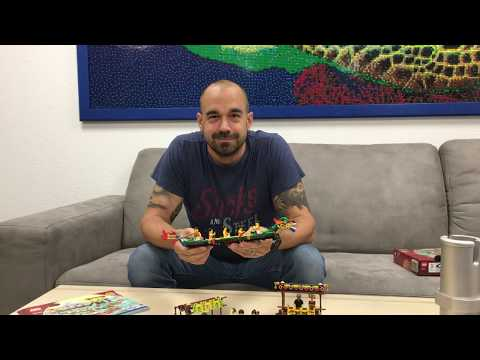 LEGO 80103 Dragon Boat Race (Drachenbootrennen) im Review