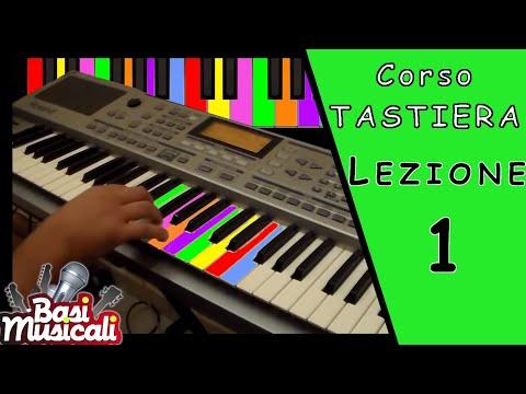 Corso di Tastiera Base #Lezione 1