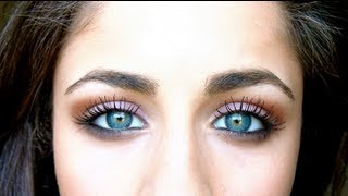 How To: Make Blue/Green Eyes Pop! ♡ - YouTube