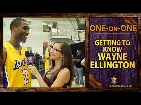 Video: Lakers Nation Interview: Getting To Know Lakers Guard Wayne Ellington