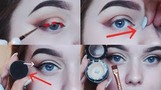 Video EYELINER HACKS YOU NEED TO KNOW! | Rachel Leary MP3, 3GP, MP4, WEBM, AVI, FLV Januari 2019