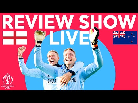 The Final Review LIVE – New Zealand V England | ICC Cricket World Cup 2019