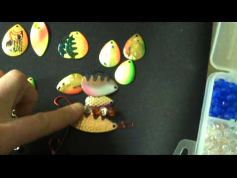 Part 2A - Building Walleye or Trout Spinner Baits & Crawler by Chris Pluntz