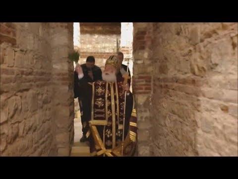 Άνοιξαν πάλι οι ελληνορωμαϊκές κατακόμβες του Αγίου Γεωργίου π. Καΐρου, από τον Πατριάρχη Θεόδωρο