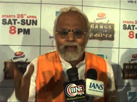 ZEETV NEW COMEDY SHOW- GANGS OF HANSEEPUR LAUNCH RAJU AND BHARTI  PART-1