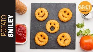 পটেটো ইমোজি | Potato Smiley Recipe | Emoji Recipe | Snacks Recipe Bangla | Nasta Recipe Bangla