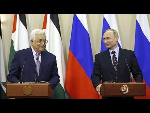 Ρωσία: Συνάντηση Βλαντιμίρ Πούτιν – Μαχμούντ Αμπάς στο Σότσι