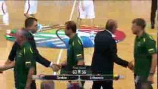 Highlights Serbia-Lithuania EuroBasket 2013