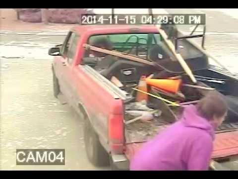 Winnipeg Thieves stealing my snow blower pt1