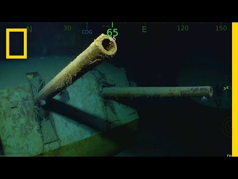 WWII Shipwreck USS Juneau Found—Famous for Five Sullivan Brothers   National Geographic