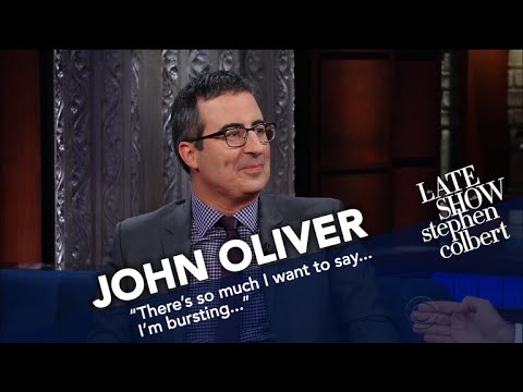John Oliver Also Went To