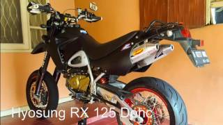 3. hyosung rx 125 dohc thn 2008