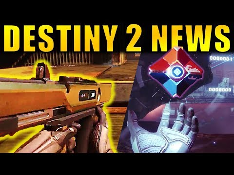 Destiny 2 News: MORE EXOTICS, New PvP Maps, Kill-