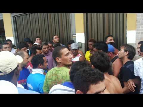 Assaltante preso em Bernardo o Mearim por pouco não foi linchado por populares