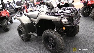 9. 2019 Honda TRX 500 Rubicon DCT Recreational ATV - Walkaround - 2018 Drummondville ATV Show