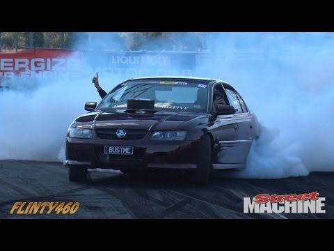 "LS1 COMMODORE ""BUST ME"" AT SUMMERNATS 29"