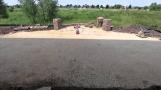 Hastings Patio Build Time-lapse